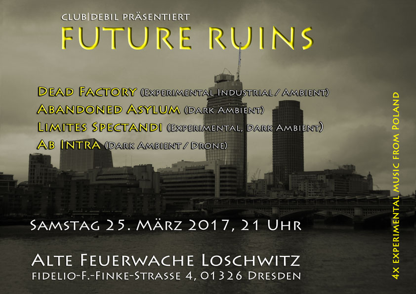 Future Ruins - club|debil Konzert
