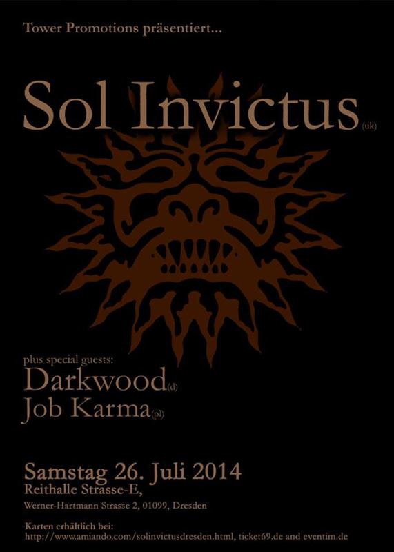Sol Invictus, Dresden
