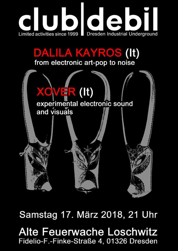Dalila Kayros & Xover live